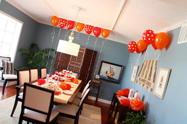 Elmo theme birthday party