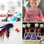 """4th of July """"Sparklers"""" Party Ideas - recipes and crafts!"""