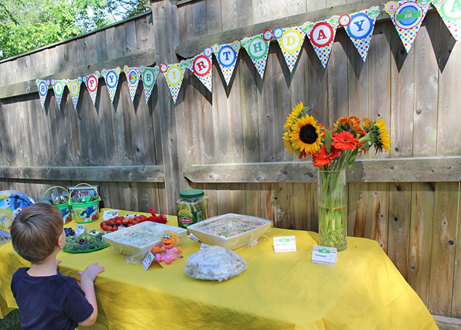 Sesame Street birthday party! Printable banner from Chickabug.com