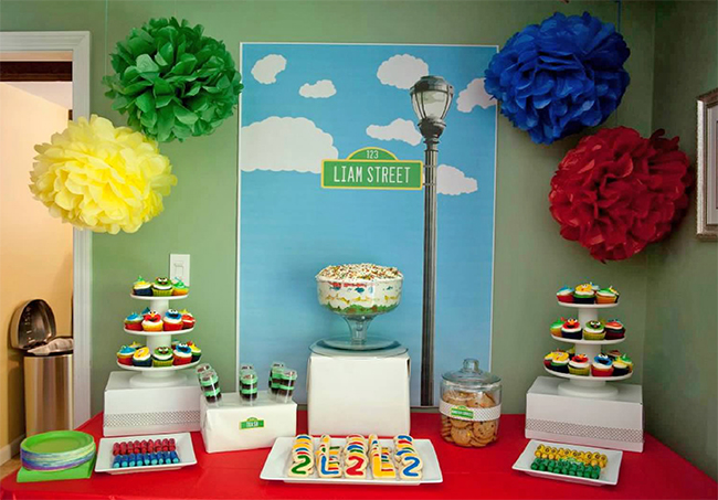 Sesame Street birthday party - tons of ideas!!