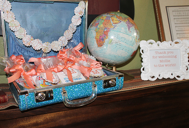 """Welcome to the World"" baby shower"
