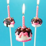 How to make birthday cake and slice cake pops - SO CUTE for any birthday!