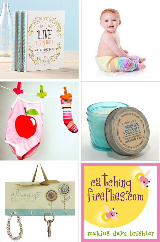 Giveaway! $43 in unique gifts & goodies from Catching Fireflies! #giveaway #freebies #win #contest Ends 9.2.13 at midnight