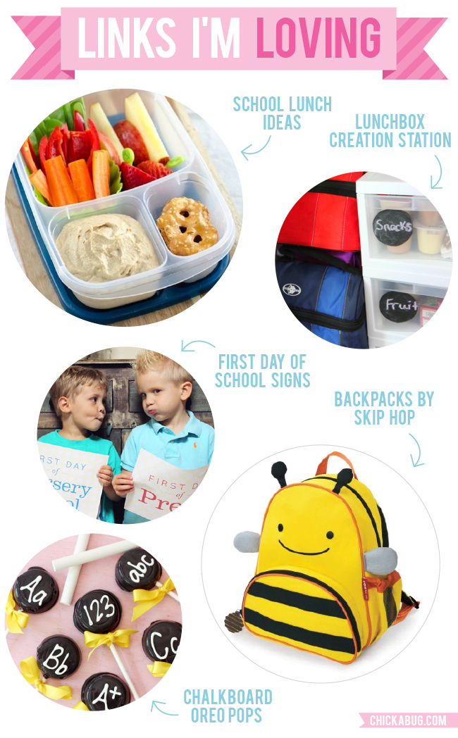 Links I'm Loving: Great ideas for back-to-school