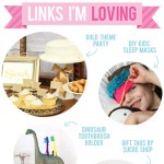 Links I'm Loving: Gold theme party ideas, DIY kids' sleep masks, and more