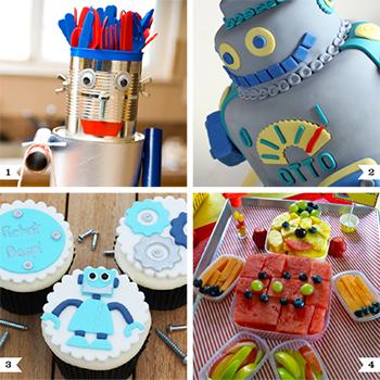 Robot party ideas #robotparty #birthday #partyideas