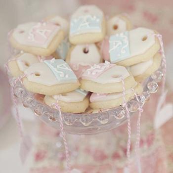 Teabag cookies