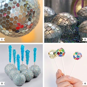 Disco dance party ideas - also good ideas for New Year's!