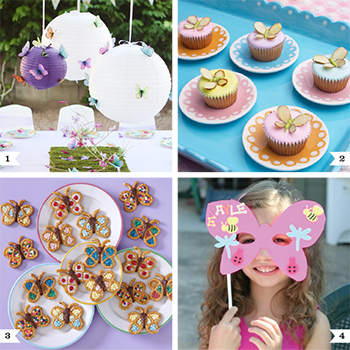 DIY butterfly party ideas for decor, food, and favors!