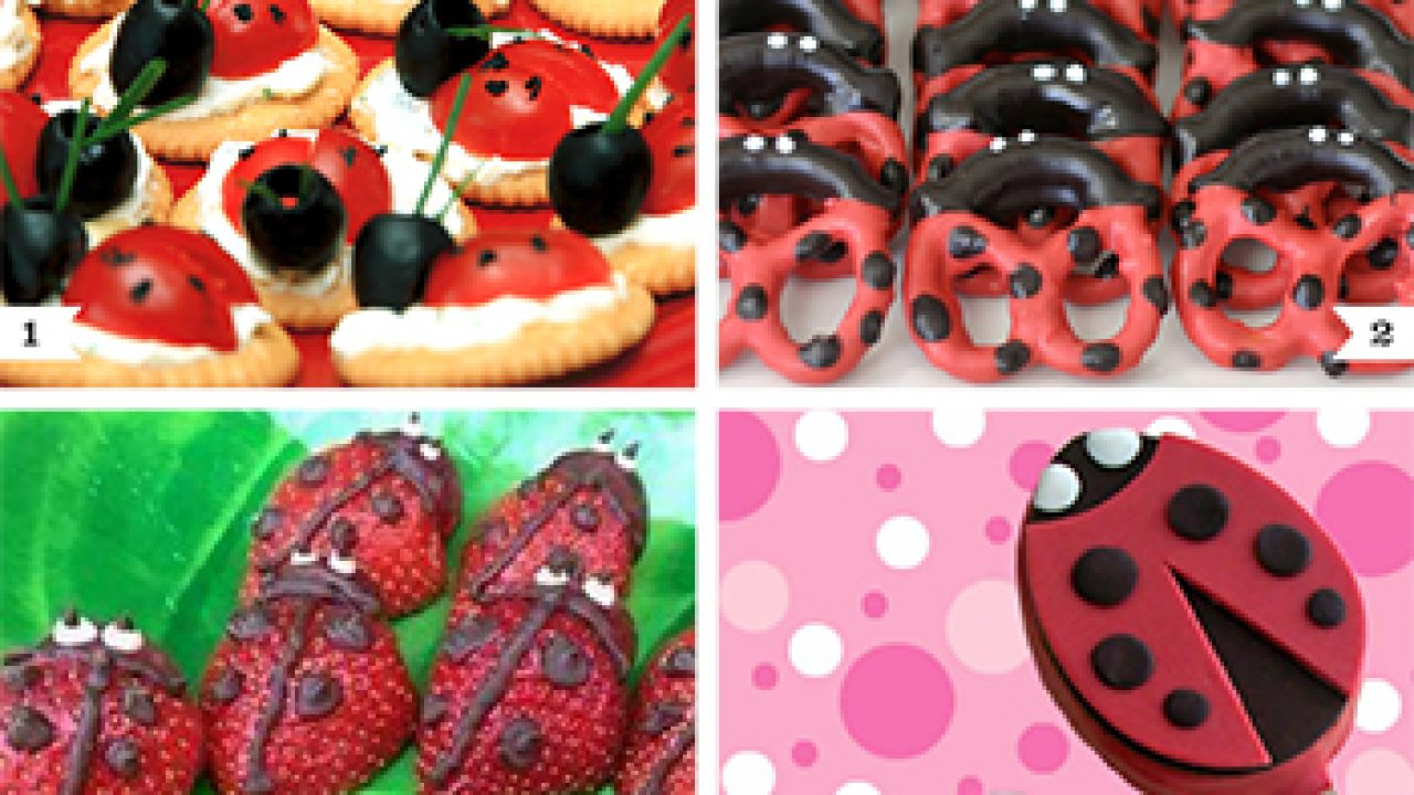 Ladybug Party Food Ideas Chickabug