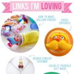 Links I'm Loving: Balloon piñatas, Lorax cupcakes, and more!