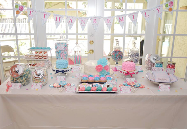 Lollipop Theme Birthday Party For Boy Girl Twins