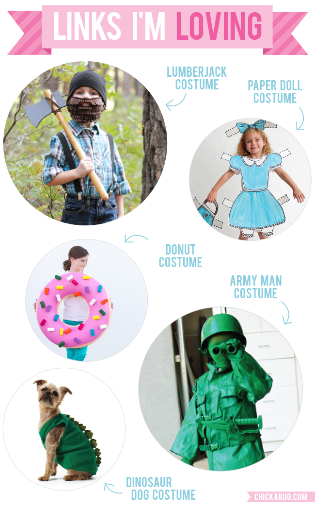 Links I'm Loving: DIY Halloween costumes