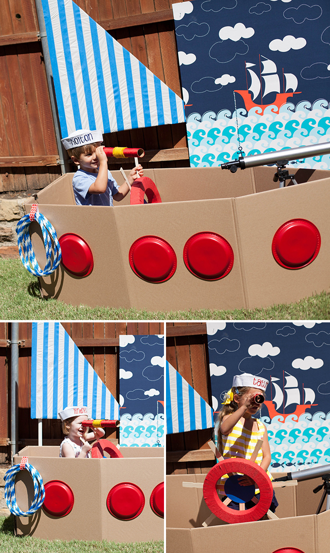 Nautical theme birthday party games