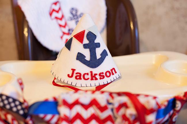 Nautical Theme 1st Birthday Party