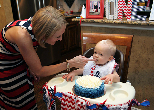 Nautical theme 1st birthday party