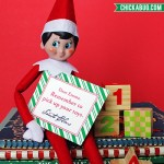 Personalized printable notes from Santa - So cute and PERFECT for your Elf on the Shelf! www.chickabug.com