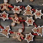 Gingerbread Christmas Garland