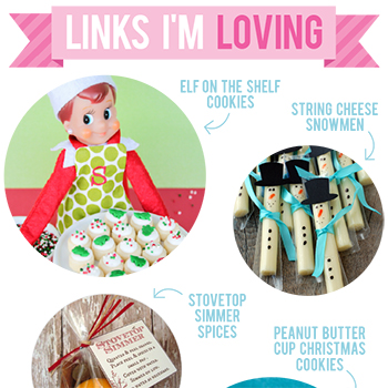 Links I'm Loving: Christmas gift ideas, recipes and crafts