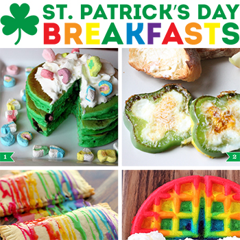 St. Patrick's Day breakfast ideas!