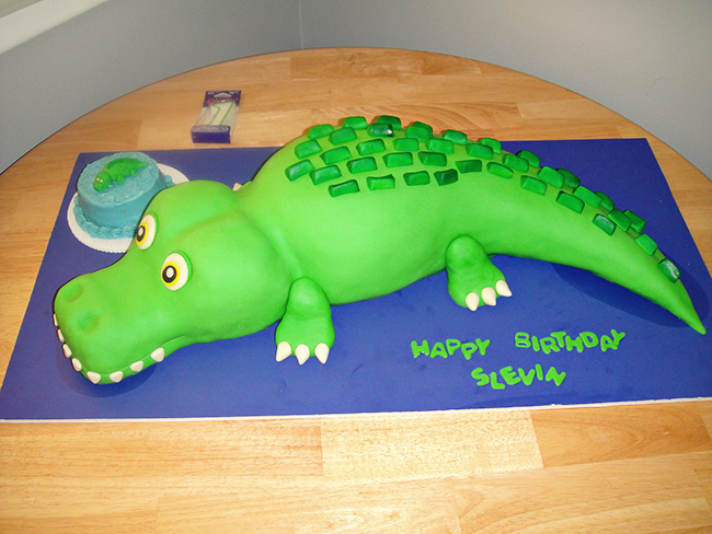 Phenomenal Alligator Party Slevin Is 1 Chickabug Funny Birthday Cards Online Alyptdamsfinfo
