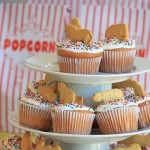 Easy circus cupcakes