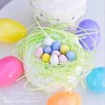 Easter egg nest cakes