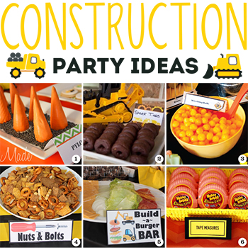 Construction party food ideas food for Construction cuisine