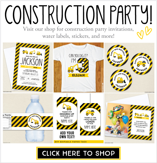 Construction Vests Via Amazon Shop For Personalized Theme Party Paper