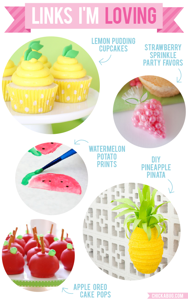 Links I'm Loving: Fresh and fruity FRUIT theme recipes and crafts!