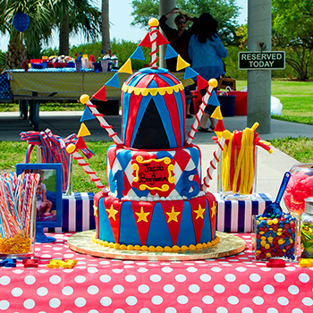 Amazing carnival theme birthday party