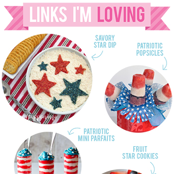 Links I'm Loving: Patriotic party food for Memorial Day
