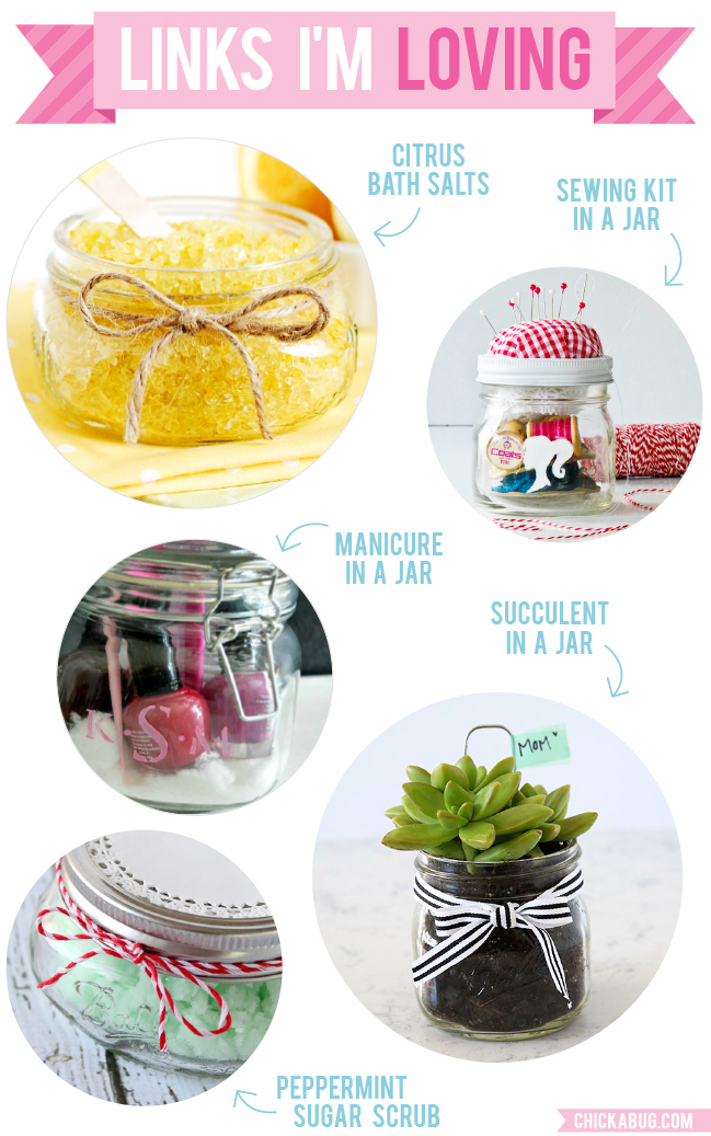 Last minute Mother's Day gifts (that all happen to be in a jar!)