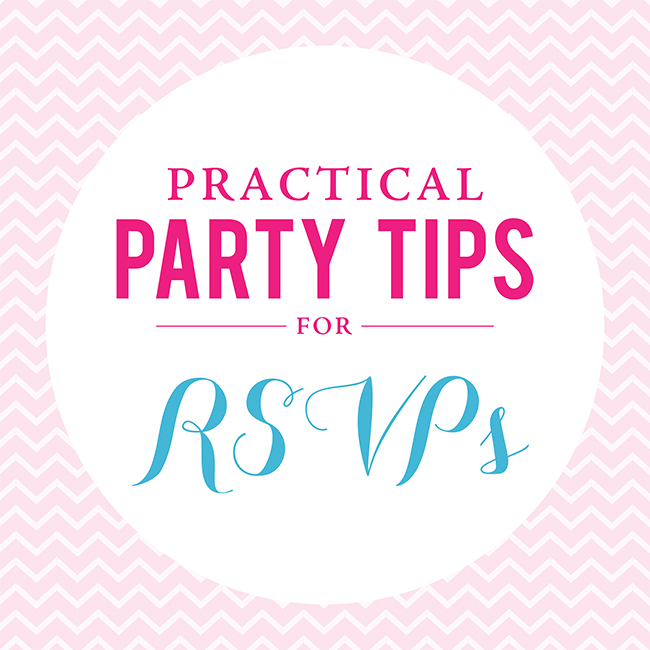 Practical Party Tips: RSVPs