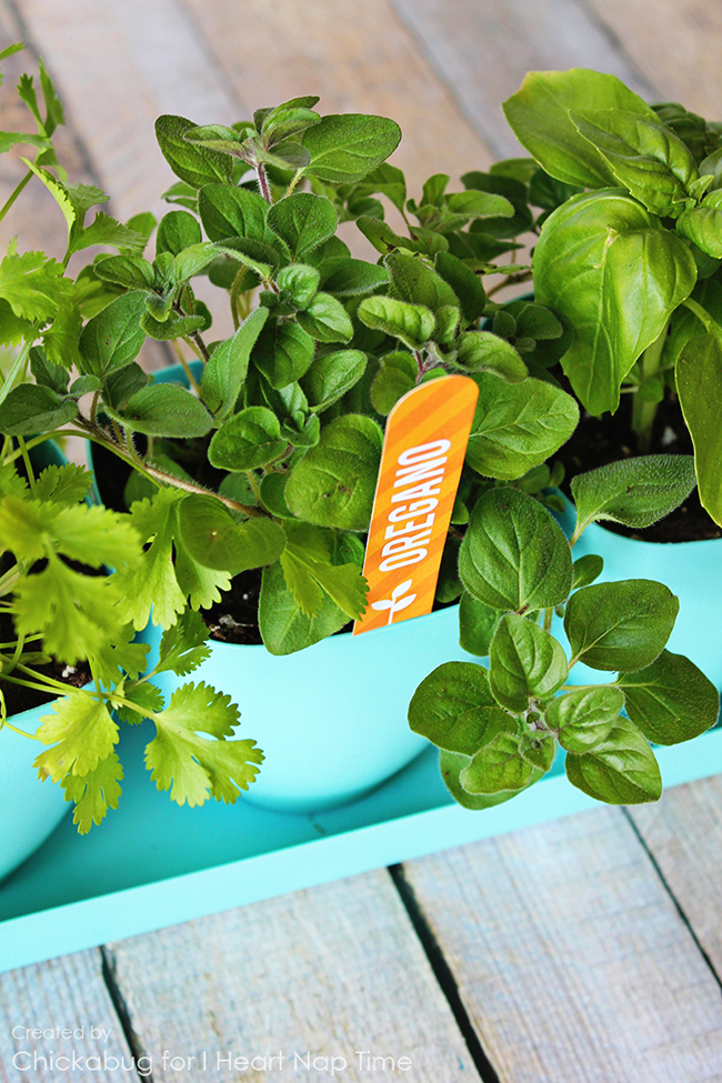Free printable herb garden labels