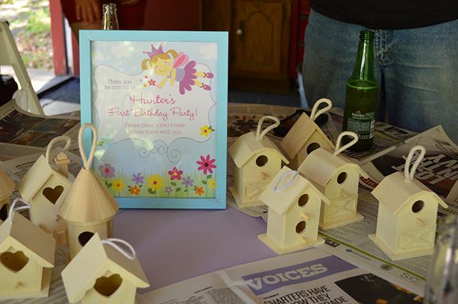 Garden fairy theme 1st birthday party
