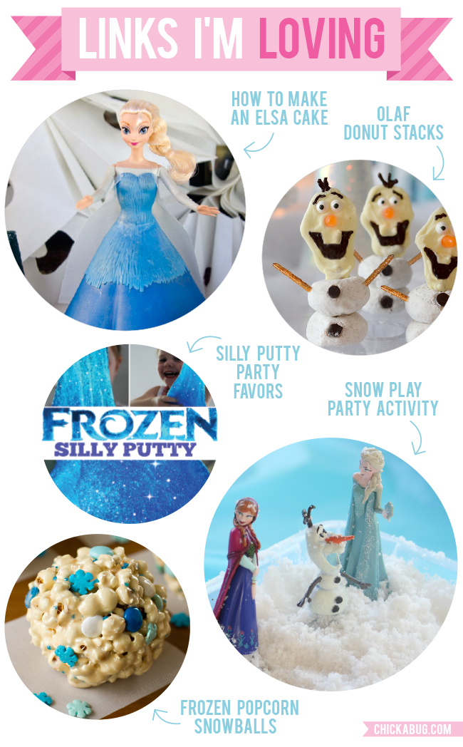 Links I'm Loving: DIY Frozen Party Ideas
