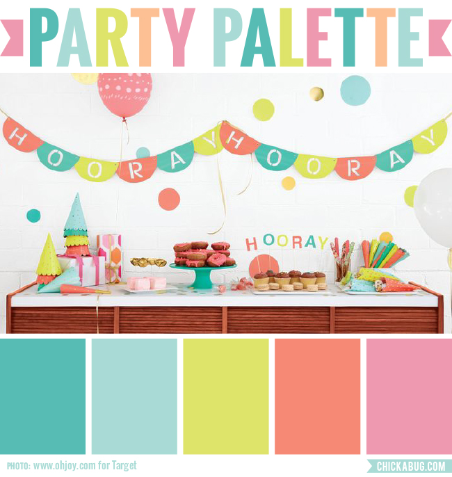 Party Palette: Oh Joy for Target