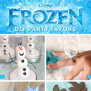 DIY Frozen party favor ideas!