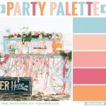 Ice cream social beach party #colorpalette