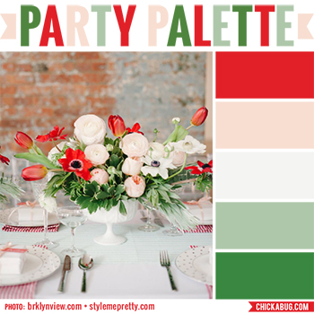 Bridal shower flowers #colorpalette