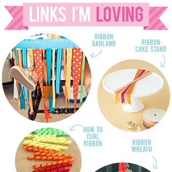 Party ideas that use ribbon!