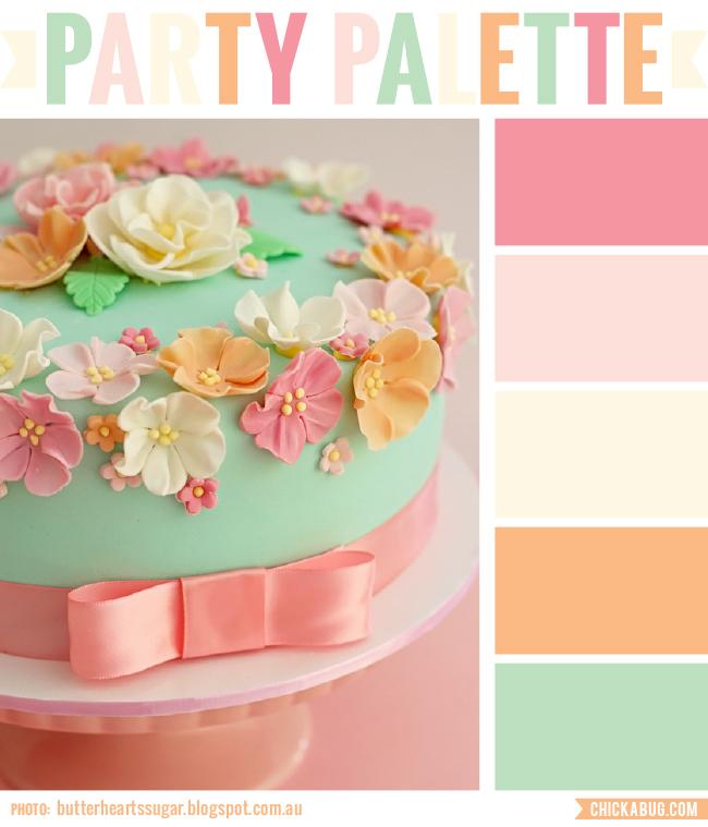 Gorgeous vintage floral color scheme #colorpalette