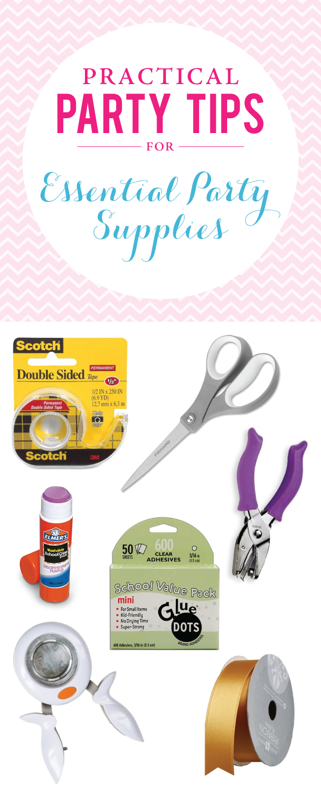 Essential party crafting supplies