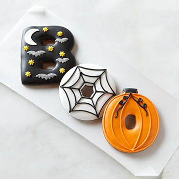 Gorgeous BOO cookies! #Halloween