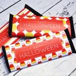 Free printable Halloween Hershey labels