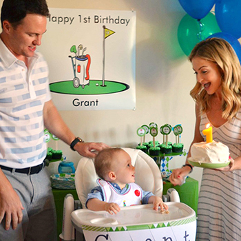 Golf theme 1st birthday party