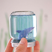Under the Sea snowglobe aquariums