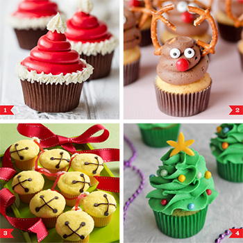 6 easy Christmas cupcakes that anyone can make!