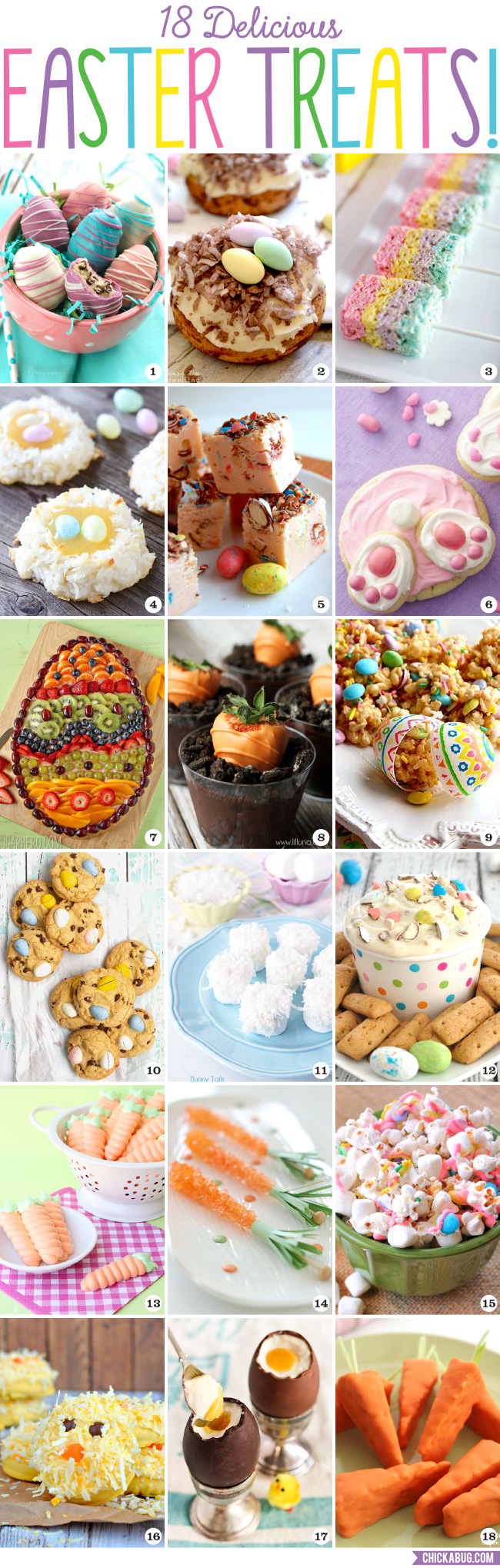 18 delicious Easter treats!